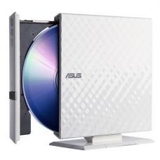 ASUS External Slim DVD-RW USB2.0 White SDRW-08D2S-U/DBLK/G/AS  ASUS 8xDVD+-R/6xDL/5xDVD-RAM