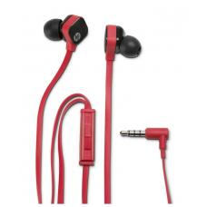 HP Headset InEar Red