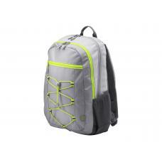 HP Active Backpack 15.6 Grey/Neon Yellow