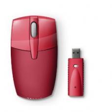 Belkin WIRELESS MOBILE MOUSE * USB; RED
