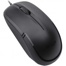 Delux DLM-136BU (W&G) Wired Optical Mouse