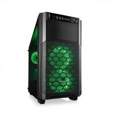 MODECOM REA GLASS RGB MINI Black Computer Case