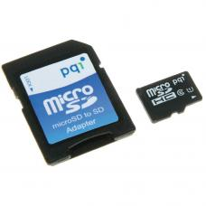 PQI 64GB MicroSD Memory Card with adapter (UHS-I
