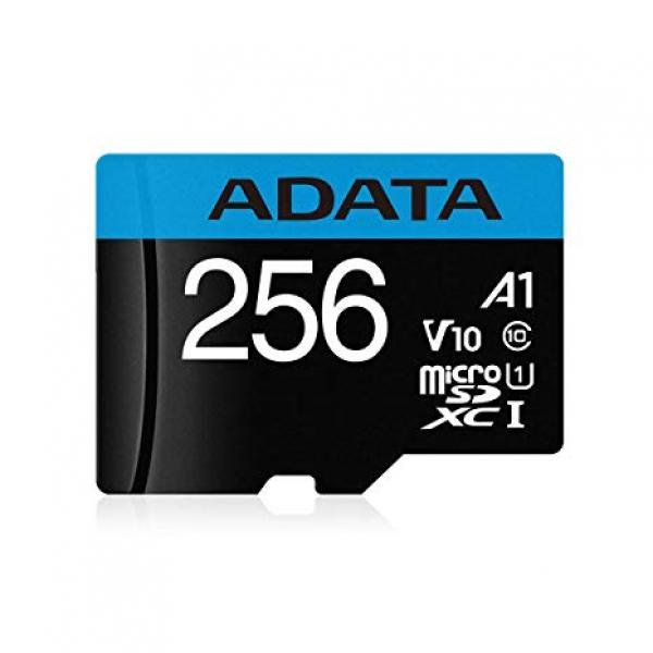 A-Data 256GB microSDHC Class 10 with adapter UHS-I