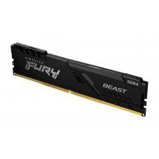 Kingston 8GB 3200MHz DDR4 CL16 DIMM FURY Beast Black