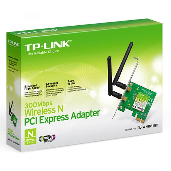 TP-Link TL-WN881ND 300Mbps Wireless PCI Express Adapter