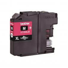 Brother Cartridge LC125XLM Magenta (up to 1200pgs)