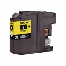 Brother Cartridge LC125XLY Yellow (up to 1200pgs)