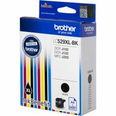 Brother Cartridge LC529XLBK Black (up to 2400pgs)