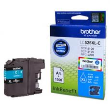 Brother Cartridge LC525XLC Cyan (up to 1200pgs)