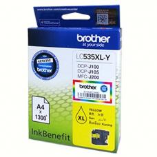 Brother Cartridge LC525XLY Yellow (up to 1200pgs)