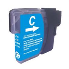 TopJet Ink Cartridge LC1100BK & LC980C Cyan for Brother DCP-145C/165C/195C/365CN/375CW