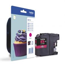 TopJet Ink Cartridge LC123M Magenta for Brother DCPJ-4110DW/MFC-J4410DW/MFC-J4510DW