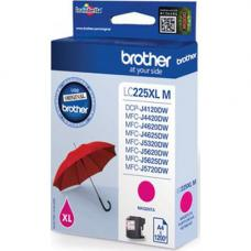 Brother Cartridge LC225XLM Magenta (up to 1200pgs)