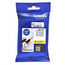 Brother Cartridge LC3617Y Yellow (up to 550pgs)
