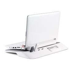Choiix Mini Air-Through Notebook Cooling Pad with Hub BLACK <12