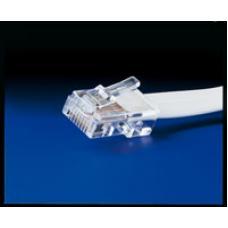 11.04.1506-10 Teleph.Cable 1:1 w.RJ45 connektor