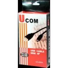 Ucom UC-020 USB Cable MINI 4P 1.8M