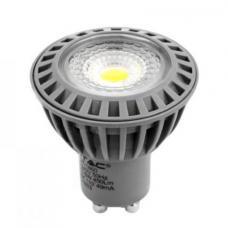 VT-1860 LED Spot Светилка - 6W 110° GU10 СОВ Plastic