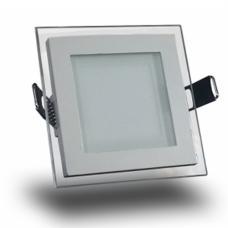 VT-607SQ 6W LED Premium Panel Downlight - Квадратен