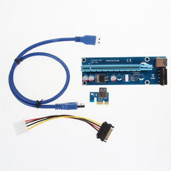 Convertot PCI-X (1x) to OCI-x (16x) Riser Card