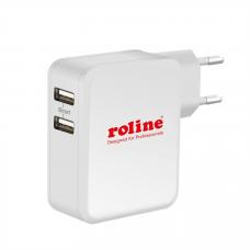19.11.1026-10 ROLINE USB Wall Charger