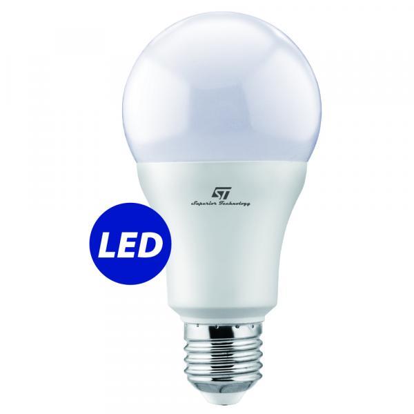 ST-0722 LED Сијалица - Samsung LED chip inside A65  E27 15W 4000K 220-240V