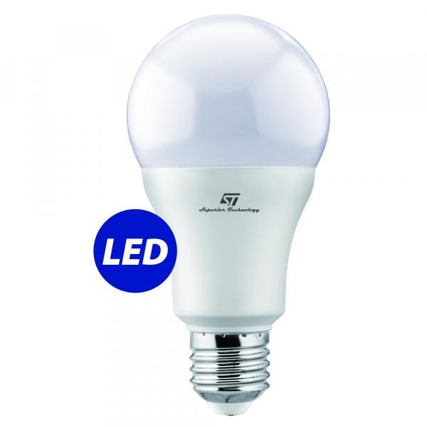 ST-0723 LED Сијалица  - Samsung LED chip inside A65  E27 15W 6500K 220-240V