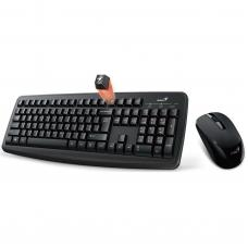 Genius Smart KM-8100  Wireless black combo (Keyboard Slimstar + Mouse optical 1000dpi black)