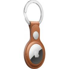 Apple AirTag Leather Key Ring - Saddle Brown mx4a2zm/a