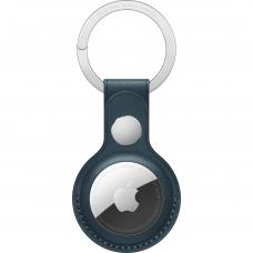 Apple AirTag Leather Key Ring - Baltic Blue mhj23zm/a