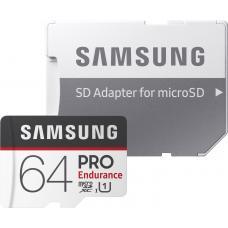 SAMSUNG 64GB PRO Endurance MircoSD+ Adater
