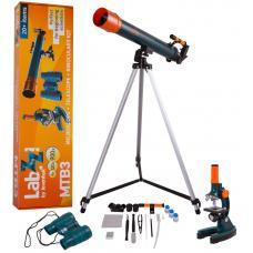 Levenhuk LabZZ MTB3 Microscope & Telescope & Binoculars Kit 69698