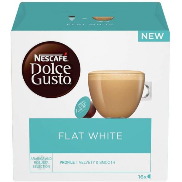 Nescafe Dolce Gusto Flat White 16Cap3x187.2g