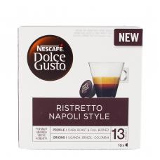 Nescafe Dolce Gusto Ristretto Napoli кафе 128g (16 капсули)